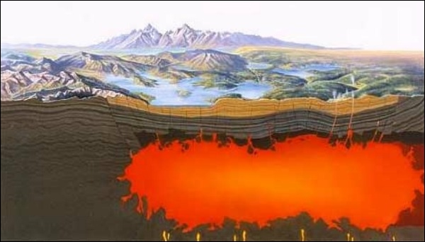 Yellowstones supervolcano is literally changing shape - but why?